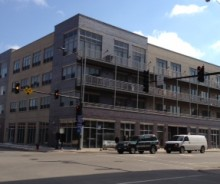 New Construction Bucktown Retail / Office at Damen & Webster