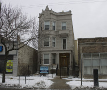 3 Story, 2 Unit Large Live / Work Greystone in Andersonville / Edgewater Neighborhood