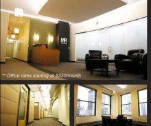 Chicago Loop Shared Executive Office Suites – Excellent Downtown Location!