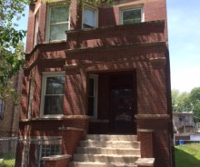 3-unit Leased Brick Apartment Building in North Lawndale