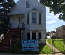LENDER OWNED 2-flat Frame Residential Property on 53rd Ave in Cicero
