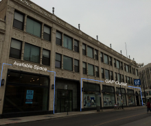 Logan Square Retail at Milwaukee/Diversey/Kimball – 500 Sq Ft 1st floor Storefront and ~9,000 Sq Ft Basement Space