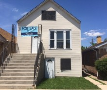 LENDER OWNED 2-flat Frame Residential Property in Berwyn on 16th Street