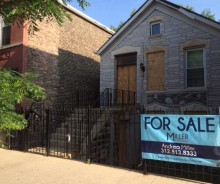 Excellent investment opportunity in Pilsen!  Lender owned Single Family Home