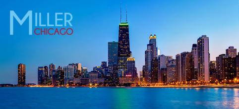 Miller Chicago Skyline Banner