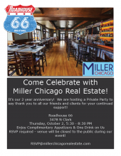 Miller Party Flyer